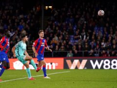 Neal Maupay scored a late equaliser for Brighton at Crystal Palace (John Walton/PA)