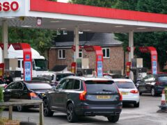 Average UK fuel prices prices remain stable (Jacob King/PA)
