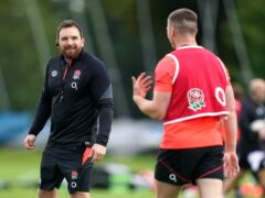 England attack coach Martin Gleeson got to work his the players for the first time at The Lensbury this week (Andrew Matthews/PA)