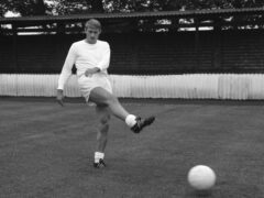 Roger Hunt earned 34 caps for England and spent most of his career, which spanned between 1958 and 1972, at Liverpool (PA Archive)