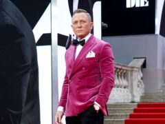 Daniel Craig looked secret agent suave on the red carpet for his James Bond swansong No Time To Die (Ian West/PA)