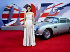 Emma Raducanu attended the world premiere of the James Bond film No Time To Die on the day it was announced she had been awarded a wild card for the BNP Paribas Open (Ian West/PA)