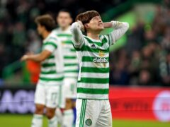 Celtic had a night to forget (Andrew Milligan/PA)