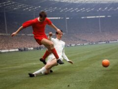 Roger Hunt is second on Liverpool's all-time goalscoring list (PA Archive)