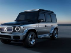 The EQG is essentially an electric version of the regular G-Class