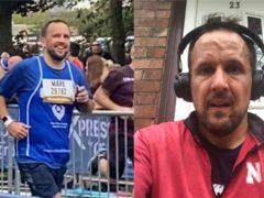 Mark Flint tackled the Great North Run a week ago (Caroline Wheeldon)