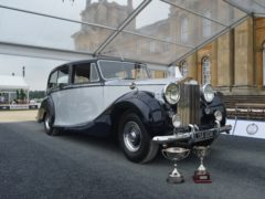 The Silver Wraith won one of the day's best trophies