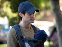 Penn Badgley struggles to escape his violent past in the trailer for You season three (John P Fleenor/Netflix/PA)