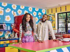 AJ Odudu hosts The Big Breakfast alongside Mo Gilligan (Channel 4/PA)
