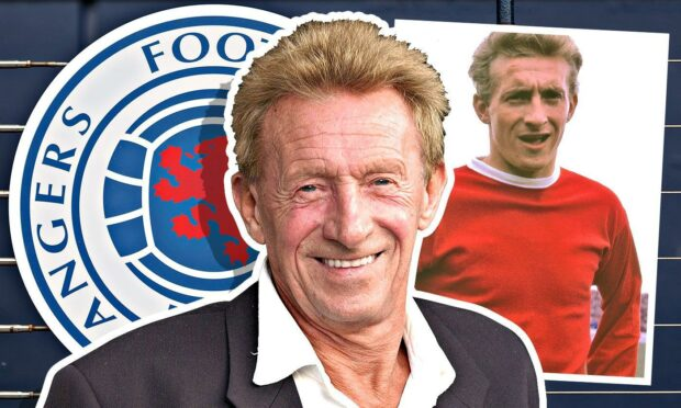 Manchester United legend Denis Law: Why Rangers will always be engraved in my heart