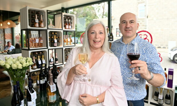 Couple open new stylish wine bar and shop in Aberdeen