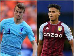 Matthijs De Ligt and Ollie Watkins feature in today's football transfer gossip (Mike Egerton/Adam Davy/PA)