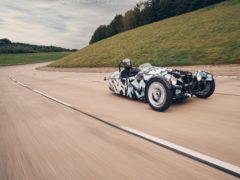 The new 3 Wheeler will use a Ford engine