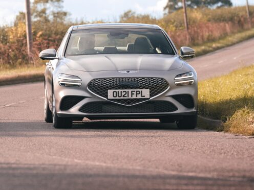 The G70 is available with either petrol or diesel engines