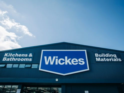 Wickes has upgraded its profit guidance (Wickes/PA)