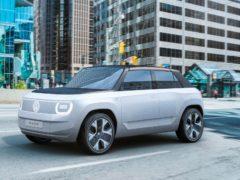 The production version of the concept car is due in 2025