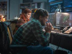 Jennifer Lawrence and Leonardo DiCaprio in Don't Look Up (Niko Tavernise/Netflix/PA)