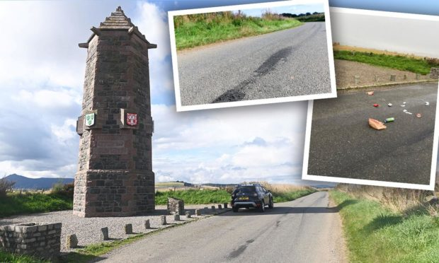 Aberdeenshire village residents up in arms over 'annoying' youths who drink alcohol and drop litter near historical monument