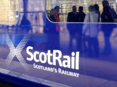 Members of the Unite trade union working for ScotRail have voted for strike action during the Cop26 summit in Glasgow. (Jane Barlow/PA)