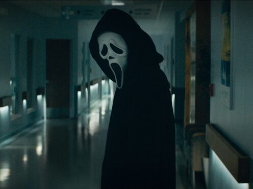 Familiar faces made a return for the first Scream trailer as a new killer terrorises the sleepy town of Woodsboro (Paramount Pictures/PA)