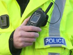 The incident occurred in Jamaica Street, Glasgow, on Friday evening (PA)