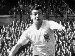 Former Fulham star Johnny Haynes died on this day in 2005 (PA Archive)