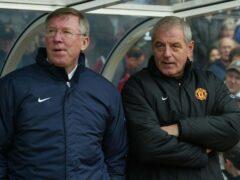 Sir Alex Ferguson and Walter Smith (David Davies/PA)