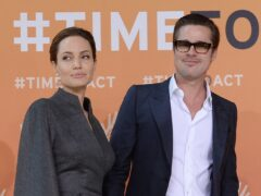 Brad Pitt has failed in his bid to have a court review the decision to disqualify the judge in his custody battle with Angelina Jolie (Stefan Rousseau/PA)