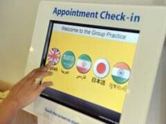 Patients will also be able to rate their GP practice's performance via text message (Anthony Devlin/PA)