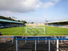 Cappielow, where Morton drew 2-2 with Arbroath (PA)