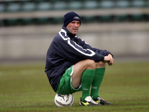 Roy Keane retired from international football on this day 16 years ago (Cathal McNaughton/PA)
