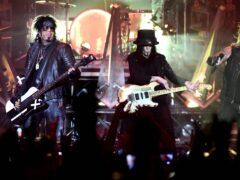 Motley Crue performing at Wembley Arena, London (Ian West/PA)