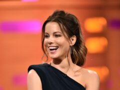 Kate Beckinsale said her IQ score had been tested as 152 as a child (Matt Crossick/PA)