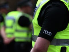 Police Scotland are investigating after an injured man was found on a Glasgow street (Andrew Milligan/PA)