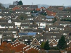 The heat and buildings strategy aims to cut emissions from homes (Joe Giddens/PA)