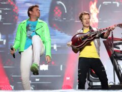 Simon Le Bon with Duran Duran (Niall Carson/PA)
