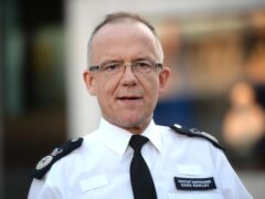 Former Metropolitan Police Assistant Commissioner for Specialist Operations and national lead for counter-terrorism Sir Mark Rowley said ministers have yet to provide a response to a review of UK counter-terrorism strategies eight months since it was delivered (Kirsty O'Connor/PA)