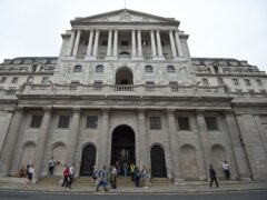 The Bank of England has warned of a rise in business insolvencies (Kirsty O'Connor/PA)
