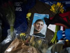 Argentine footballer Emiliano Sala died when the plane he was travelling in crashed into the English Channel (Aaron Chown/PA)