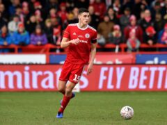 Accrington will be without Ross Sykes (Anthony Devlin/PA)