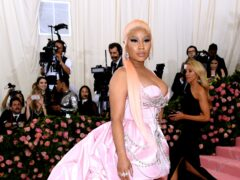 Nicki Minaj put the controversy over her Covid vaccine comments to one side while celebrating her son's first birthday (Jennifer Graylock/PA)