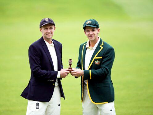 England captain Joe Root (left) and Australia captain Tim Paine (Nick Potts/PA)