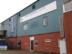 Gigg Lane, pictured, could be rescued as a deal to sell the ground has been brokered (Richard Sellers/PA)