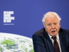 Sir David Attenborough narrates the animated film from the Royal Society (Chris J Ratcliffe/PA)