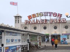Shares in Brighton Pier Group surged after it confirmed it has settled £5m of business interruption claims with insurers (Gareth Fuller/PA)