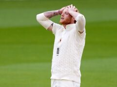"""England all-rounder Ben Stokes admits he was in a """"dark place"""" after his finger injury (Jon Super/NMC Pool)"""