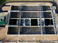 A sewage works (Gareth Fuller/PA)