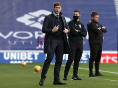 Rangers manager Steve Gerrard has backed Steve Bruce amid Newcastle speculation (Jeff Holmes/PA)