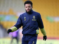 Jordan Cousins is a doubt for Wigan (Nigel French/PA)