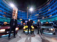 Freddie Flintoff, Paddy McGuinness and Chris Harris (BBC)